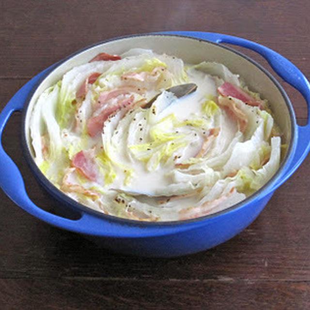 白菜の豆乳鍋