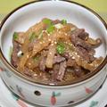 大根牛肉ナムル -- 消化に良い!ブルゴギ味大根ナムル