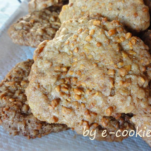 Oatmeal cookies (オーブンを楽に使える暑さですね。)
