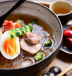 「シラタキ冷麺」