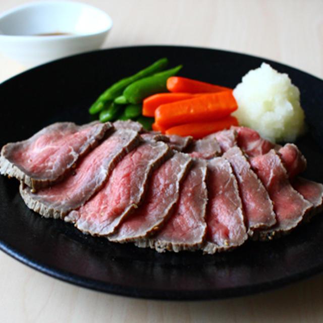 おろしポン酢ローストビーフ