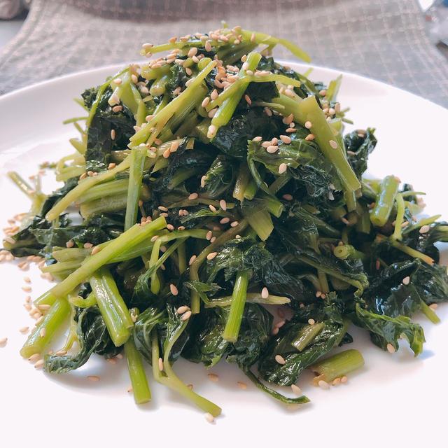 黄金比でどんな野菜でも無限に食べれる。三つ葉のうま塩ナムル 野菜不足に!
