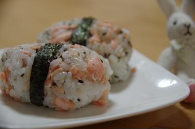 鮭の胡麻マヨおにぎり☆