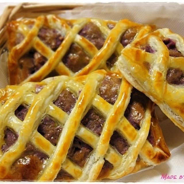 紫芋deスイートポテトパイ