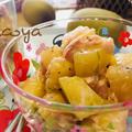 簡単・ひんやり☆キウイフルーツとツナのサラダ