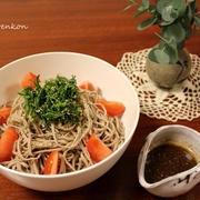 蕎麦サラダ バルサミコ風味