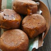 [簡単!捏ねない!発酵20分!]フライパンでふわん♪トロ~ッ♪キャラメルチョコパン