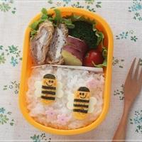 【卵焼きのハチさんのお弁当*キャラ弁】