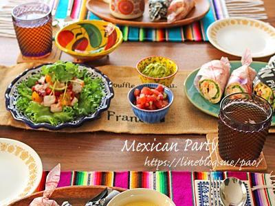 >メキシコ料理でおもてなし♪自家製トルティーヤで2種のブリトー by ぱおさん