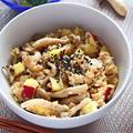 ささみとさつまいものオートミールご飯【レンジでつくるローファットごはん】|レシピ・作り方