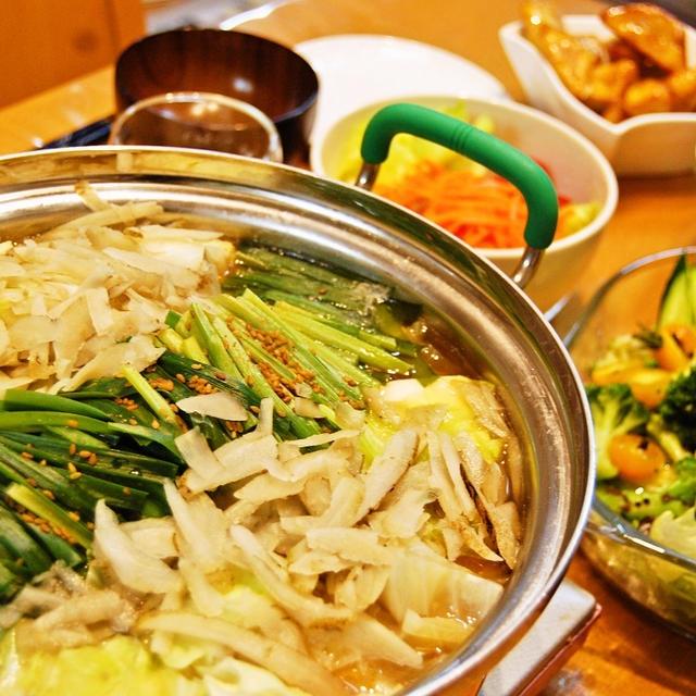 【食べてストレス発散】自家製スープが簡単絶品モツ鍋がウマイ!