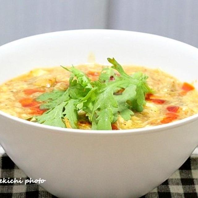 辛い、酸っぱい、旨い「サンラータン麺」&お弁当のおともに「牛肉のしぐれ煮」