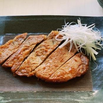ミツカン八方だしとちょい味噌でご飯が止まらない「豚肉のだし味噌漬け」