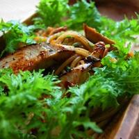 11.10.31 Recipe! 野菜のうまみドレッシングで作る 焼きがつおのパスタ。
