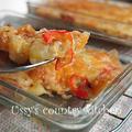 胡麻ッシュポテトのチーズ焼き