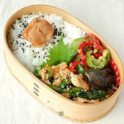 ◆豚ニラキムチ炒め弁当