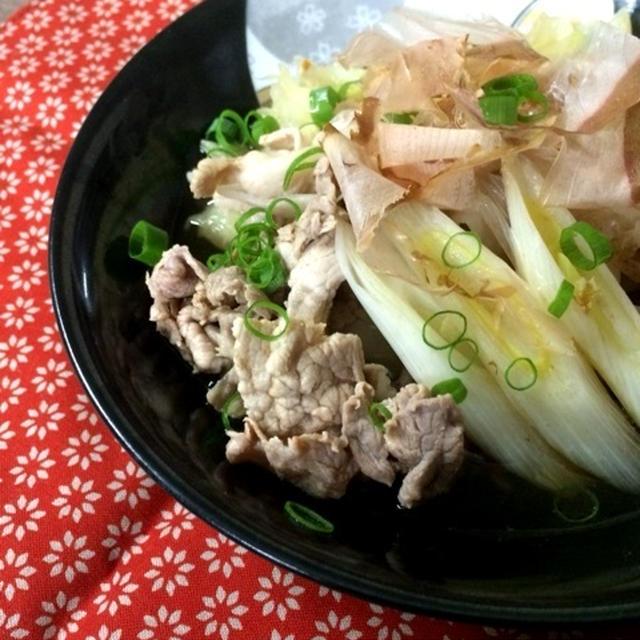 豚肉とキャベツの簡単あっさり煮