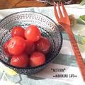 真っ赤なトマトの宝石☆まるで最高のフルーツトマト!ミニトマトのマリネ♪キャンプにも!持ち寄りに!