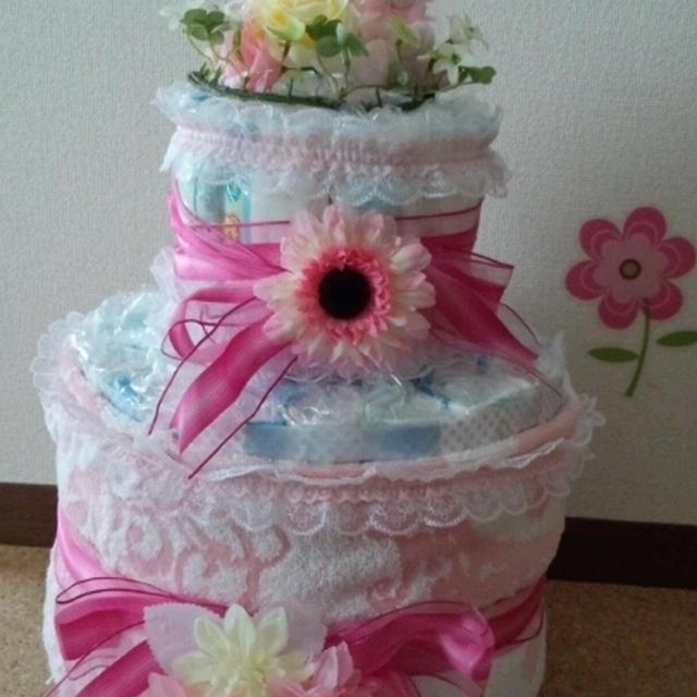 オムツケーキ作りました!