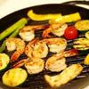 シーフードと野菜のグリル