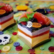ハロウィン☆魔女のチーズケーキ