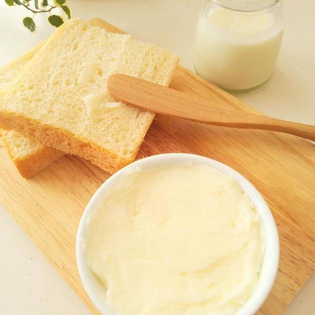バター&バターミルク《バターミルクの用途・使用する生クリームの種類・クリームと出来上がり量の関係・植物性のクリームについて》夏休みの自由研究にも!