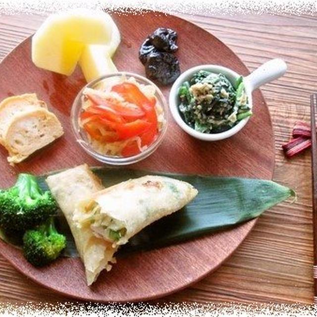鶏春巻きの朝ごはん&漢方セミナー