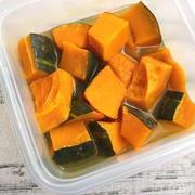 お弁当やあと一品おかずに便利!レンジで作れる「かぼちゃの煮物」