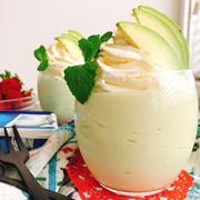 【レシピ動画】お砂糖なしアボカドとレモンのレアチーズ