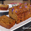 コーヒーと楽しむ、紫芋と胡桃の黒糖パウンドケーキ by quericoさん