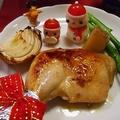 2013年クリスマスディナー★漬け込んで焼くだけ♪ローストチキン by とまとママさん