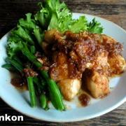【簡単!!カフェごはん】柔らかい鶏胸肉の玉ねぎだれ焼き