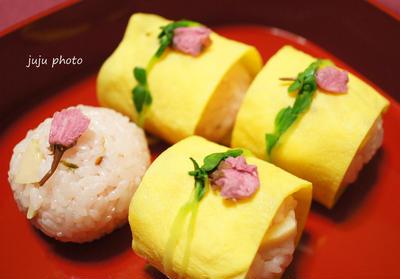 桜ご飯でお花見気分♪