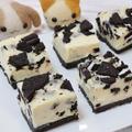 オレオのソフトチョコチーズケーキ