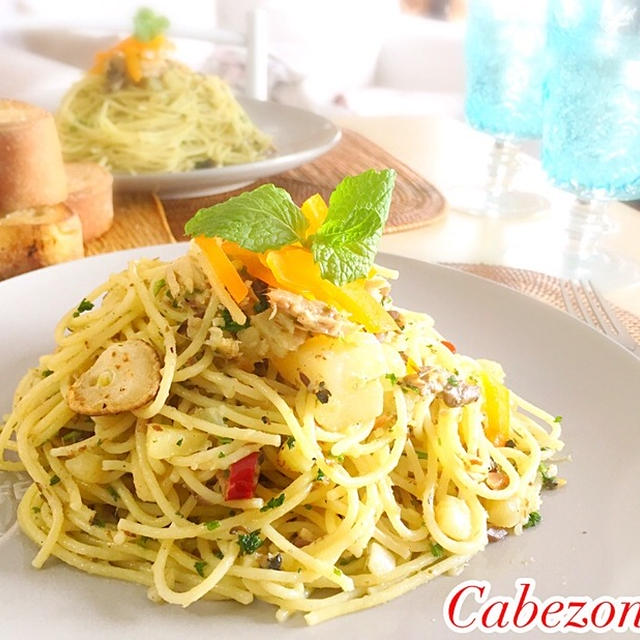 自家製オイルサーディンとじゃがいもパスタ   #オイルサーディン #鰯 #パスタ #イタリアン#イタリア料理
