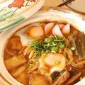 【昼ごはん】名古屋風*味噌煮込みうどんを食べました~♪