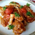 茸と鶏もものトマト煮🍅