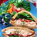 【ふすまパン】卵とクリームチーズのサンドイッチ(動画レシピ)