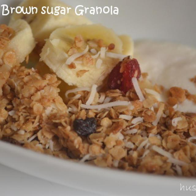 ♪大人気の朝食レシピ!★メープル&ブラウンシュガーグラノーラ★♪