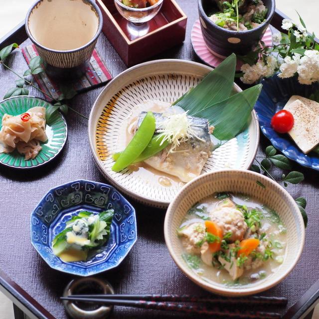 サバの味噌煮定食 レシピ