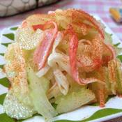セロリとカニかまのサラダ