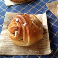 シナモンロール 〜林檎入り〜 成形の写真レシピあり。