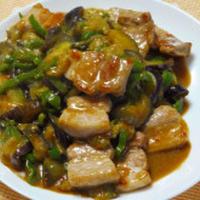 豚バラ肉の味噌炒め