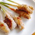 谷中生姜の豚肉巻き焼き