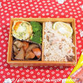 お弁当は『さんまときのこの炊き込みご飯』 & 週末しごと『常備菜』 by おとめさん