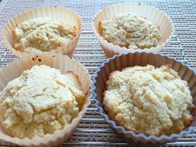 糖質オフスイーツ★大豆粉&おからカップケーキ作ってみました★糖質制限