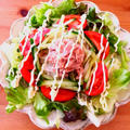 ★お昼ごはん★サラダうどん!