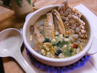 雑穀畑の豆乳サムゲタン風鍋☆