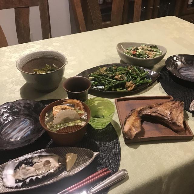 パパとの夕飯