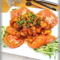 【おうちで楽しもう!韓国食材】柔らか鶏胸肉のコチュマヨ炒め